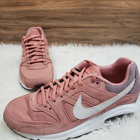 New Nike Air Max Command Pink Sneakers NWT